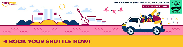 Cancun Shuttle to Hotel Zone
