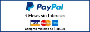 Paypal 3 Meses Sin Intereses