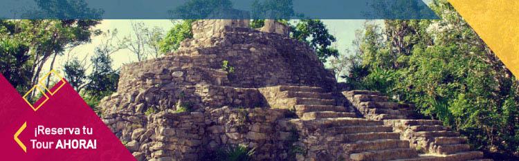 Ruins in Xcaret