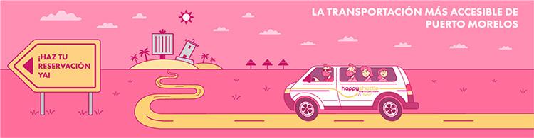 Transportacion a Puerto Morelos