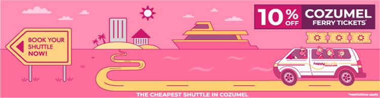 Cancun Shuttle to Cozumel Ferry