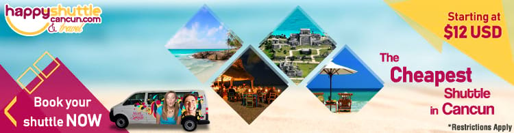 Cheapest Transfer in Cancun