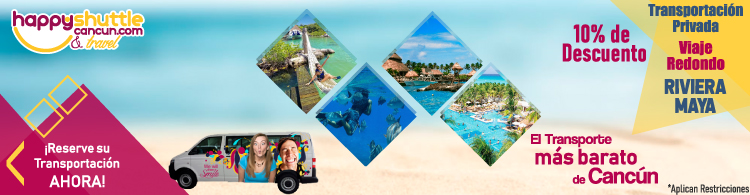 Transportacion a la Riviera Maya