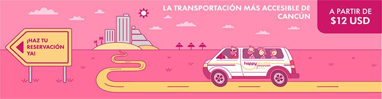 Transportación y Traslados en Cancún