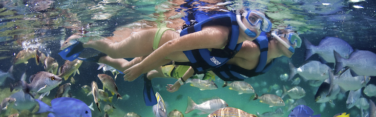 Snorkeling in Xel-Ha